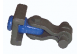 Limiter Model -102- Coupler with rotation limiter that can be welded to your custom application.